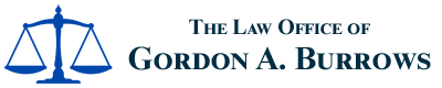 The Law Office of Gordon A. Burrows Header Logo