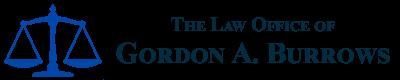 The Law Office of Gordon A. Burrows Header Logo